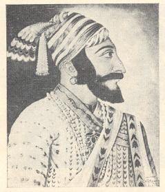 छत्रपती श्रीशिवाजी महाराज :राज्य शासनाने प्रकाशित केलेले चित्र.
