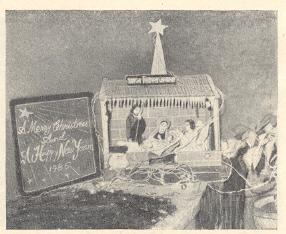 नाताळचा सण : ख्रिस्तजन्म-देखावा.