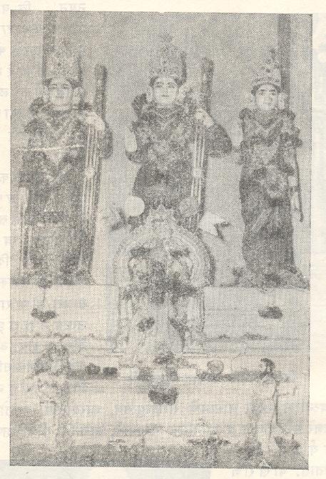 चाफळच्या राममंदिरातील मूर्ती