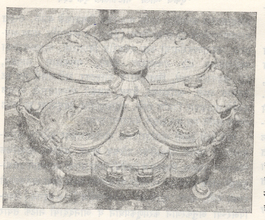 पुण्याच्या राजा केळकर संग्रहालयातील आलंकारिक चौफुला