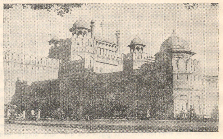 लाल किल्ला (१६३८), दिल्ली.