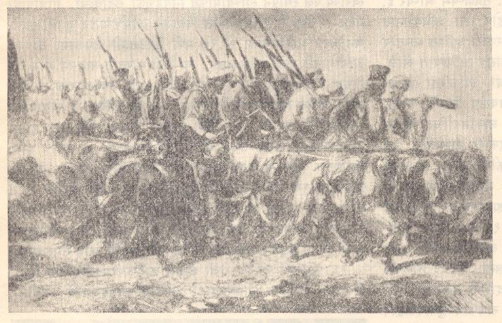 १८५७ च्या उठावातील तात्या टोपेची शिबंदी