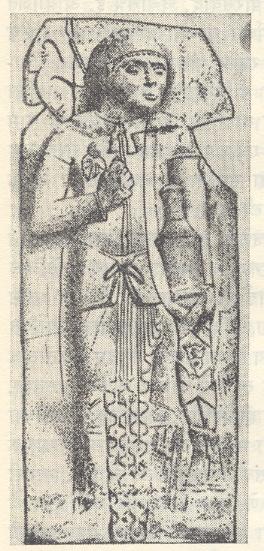 योद्धाचे शिल्प : भारहूत, इ.स..पू. २-३ रे शतक.
