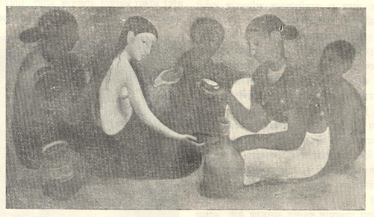 'ब्राइड्स टॉयलेट' (१९३७) - अमृता शेरगिल