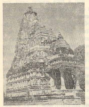 पार्श्वनाथ मंदिर, खजुराहो.