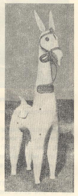बांकुरा अश्व : खापरीकामाचा परंपरागत नमुना, पं. बंगाल.