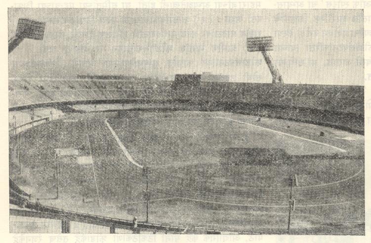 नेहरू स्टेडियम, दिल्ली.
