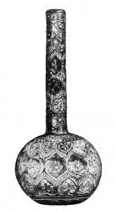 जडावकाम केलेले भारतीय काचपात्र, १८ वे शतक