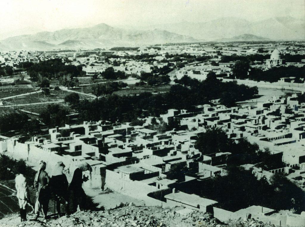 काबूल : एक विहंगम दृश्य.