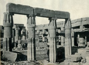 ॲमनच्या मंदिराचे स्तंभावशेष,कारनॅक