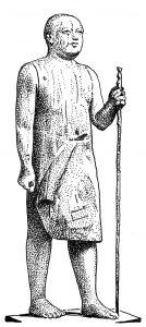 शेख एल बेलेड : ईजिप्शियन काष्ठशिल्प, इ. स. पू. सु. २३००